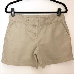 LOFT Khaki Chino Shorts